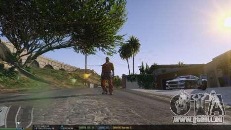 GTA 5 La barre d'état v. 0.1 deuxième capture d'écran