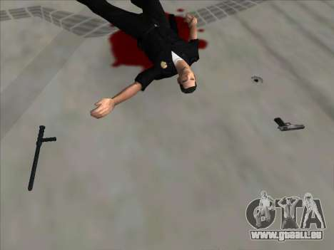 Weapons on the Ground für GTA San Andreas dritten Screenshot