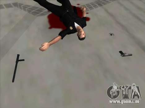 Weapons on the Ground pour GTA San Andreas troisième écran