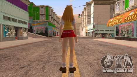 Sonsaku für GTA San Andreas dritten Screenshot