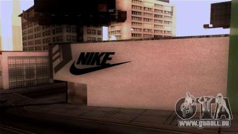 New Shop Nike pour GTA San Andreas deuxième écran
