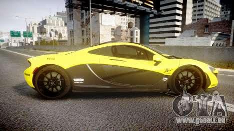 McLaren P1 2014 [EPM] Harrods GTR für GTA 4 linke Ansicht