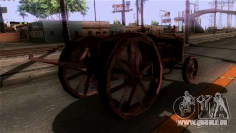 GTA 5 Rusty Tractor für GTA San Andreas linke Ansicht