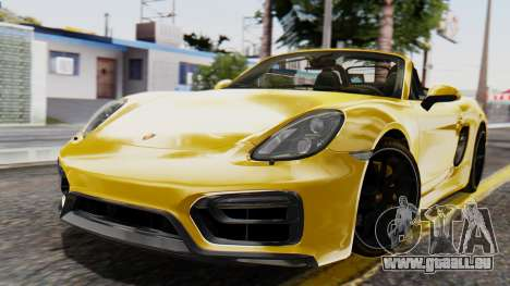 Porsche Boxter GTS 2016 pour GTA San Andreas