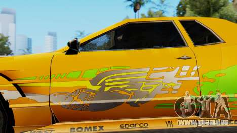 Elegy Supra PJ für GTA San Andreas zurück linke Ansicht