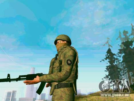 Pak-Kämpfer von speziellen Truppen von GRU für GTA San Andreas her Screenshot