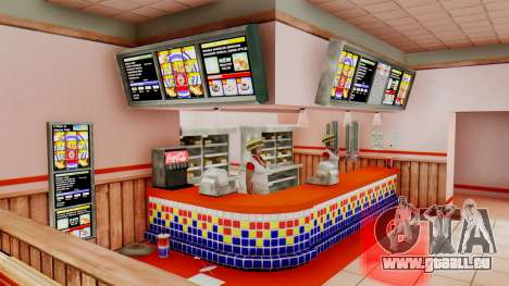 Real fast food pour GTA San Andreas