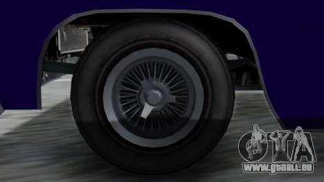 GTA 5 Declasse Voodoo IVF pour GTA San Andreas sur la vue arrière gauche