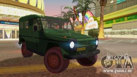 Mercedes-Benz G Wolf Croatian Army für GTA San Andreas