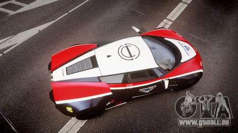Marussia B2 2012 Jules pour GTA 4 est un droit