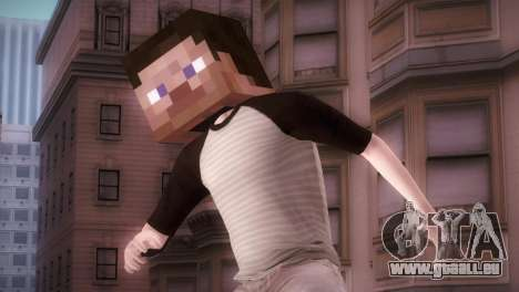Minecraft Boy pour GTA San Andreas