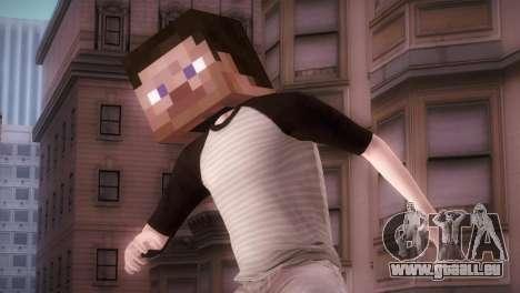Minecraft Boy für GTA San Andreas
