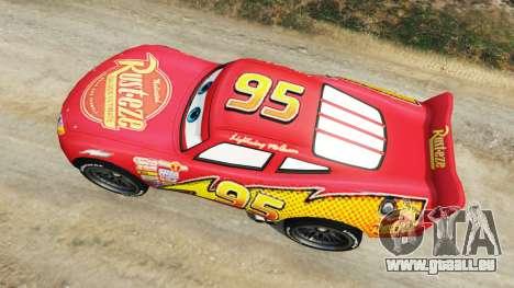 Lightning McQueen [Beta] pour GTA 5