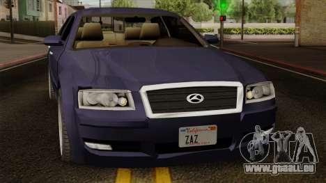 Sungnyemun Moirai IVF pour GTA San Andreas vue arrière