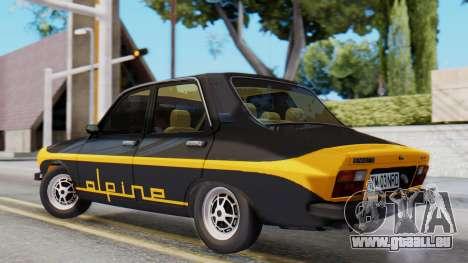 Renault 12 Alpine pour GTA San Andreas laissé vue