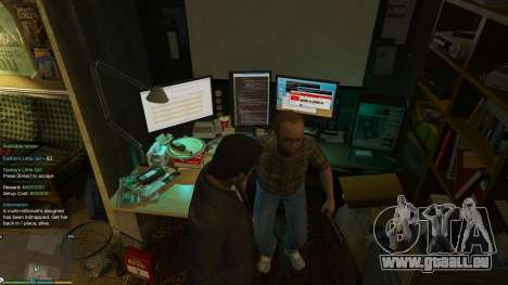 GTA 5 Story Mode Heists [.NET] 0.1.4 achten Screenshot