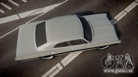 Chevrolet Impala 1967 Custom pour GTA 4 est un droit