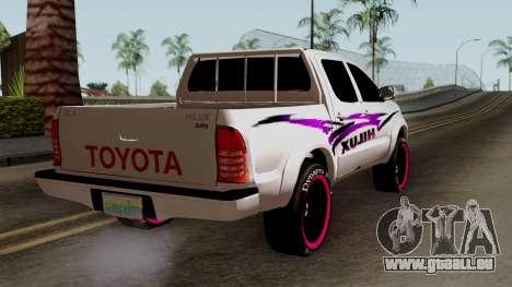 Toyota Hilux 2014 für GTA San Andreas linke Ansicht