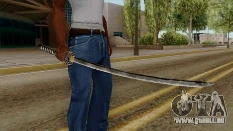 Original HD Katana für GTA San Andreas