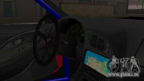 Mitsubishi Eclipse GSX 1999 Mugi Itasha für GTA San Andreas rechten Ansicht