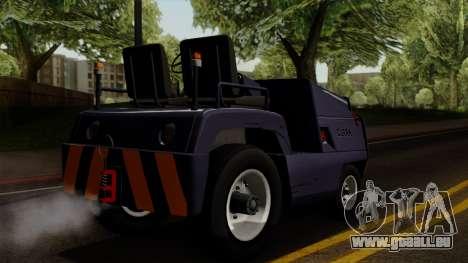 Clark CT-50 Baggage pour GTA San Andreas laissé vue