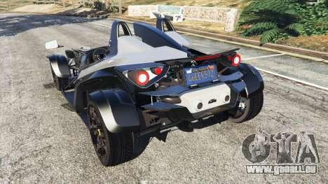 GTA 5 KTM X-Bow [Beta2] arrière vue latérale gauche