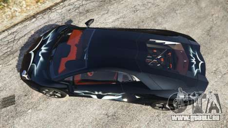 Lamborghini Aventador LP700-4 Batman v2 pour GTA 5