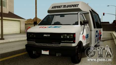Fly Us Airport Bus für GTA San Andreas