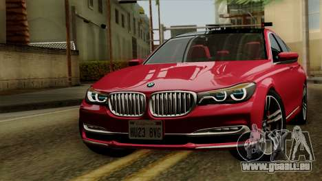 BMW 7 2015 pour GTA San Andreas