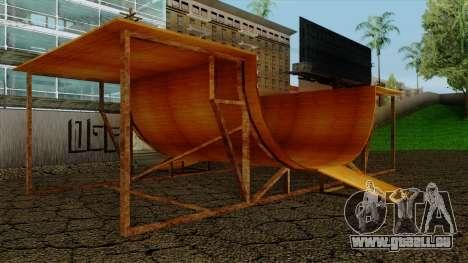 HD Skate Park pour GTA San Andreas deuxième écran