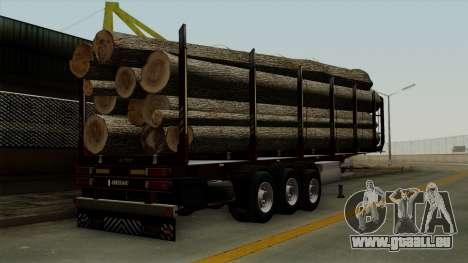 Trailer Fliegl v1 für GTA San Andreas linke Ansicht