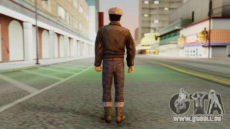 Vito Gresser v2 pour GTA San Andreas troisième écran