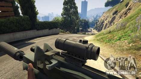 GTA 5 Battlefield 4 Famas
