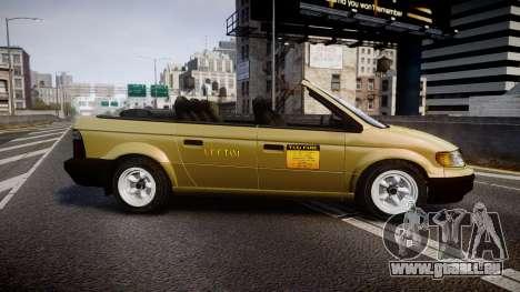 Schyster Cabby LX für GTA 4 linke Ansicht