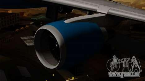 Boeing C-32 Air Force Two pour GTA San Andreas vue de droite