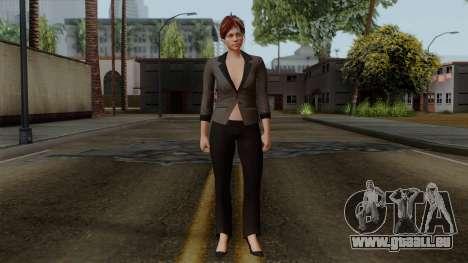 GTA 5 Online Female04 pour GTA San Andreas deuxième écran