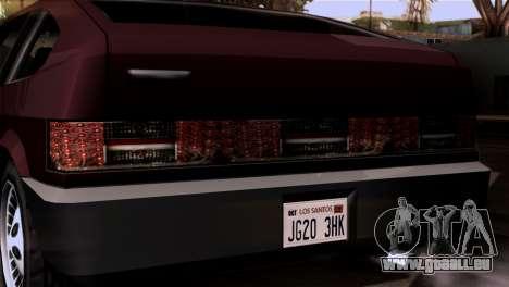 Nouveaux phares pour GTA San Andreas quatrième écran