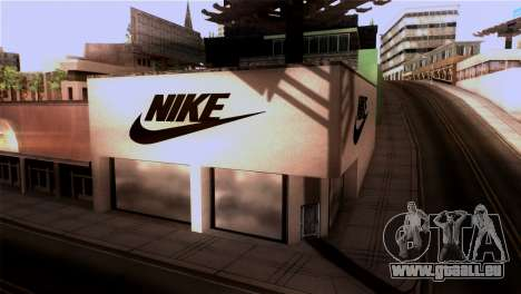 New Shop Nike pour GTA San Andreas