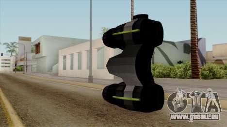 Original HD Thermal Goggles pour GTA San Andreas deuxième écran
