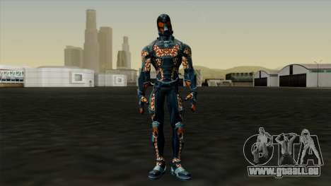 Ant-Man Orange Jacket pour GTA San Andreas deuxième écran