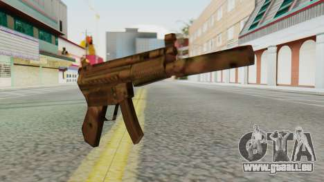 MP5K Silenced SA Style für GTA San Andreas