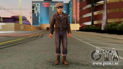 Vito Gresser v2 pour GTA San Andreas deuxième écran
