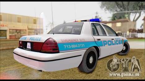 Ford Crown Victoria für GTA San Andreas linke Ansicht
