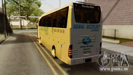 Mercedes-Benz Travego Abana Bozkurt Seyahat pour GTA San Andreas laissé vue