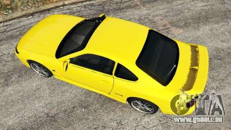 GTA 5 Nissan Silvia S15 v0.1 vue arrière