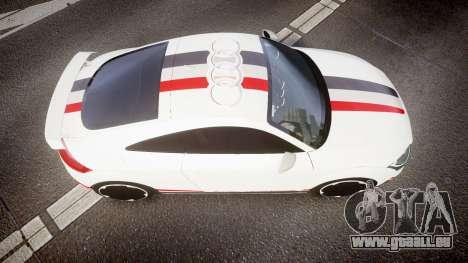 Audi TT RS 2010 Quattro für GTA 4 rechte Ansicht