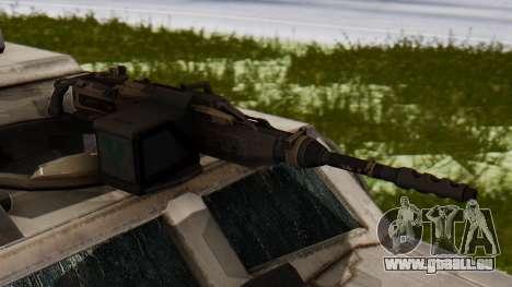 BAE Systems JLTV für GTA San Andreas Rückansicht