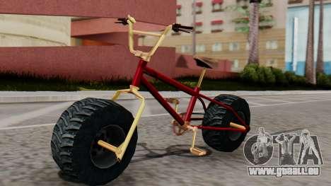 Monster BMX pour GTA San Andreas