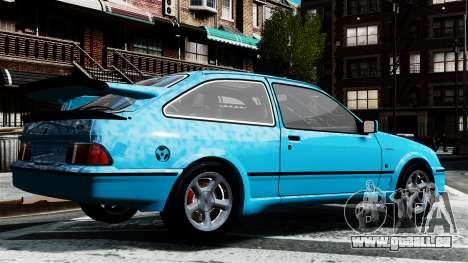 Ford Sierra RS Cosworth v2 für GTA 4 linke Ansicht