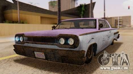 GTA 5 Declasse Voodoo Worn pour GTA San Andreas